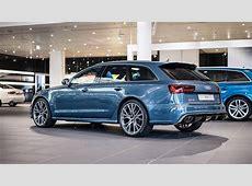Polar Blue Metallic RS6 Avant by Audi Exclusive Looks Cool