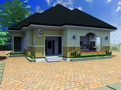 simple 4 bedroom house plans residential homes designs bedroom bungalow