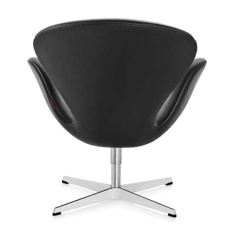 fritz hansen sessel swan chair sessel leder fritz hansen ambientedirect