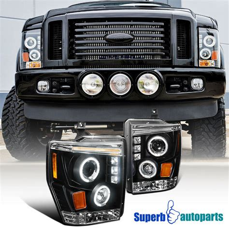ford ff led projector euro halo