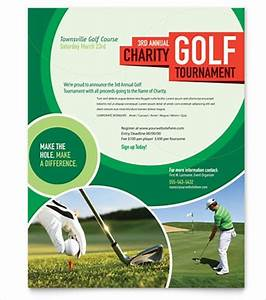 golf flyer template free the best letter sample With golf tournament program template