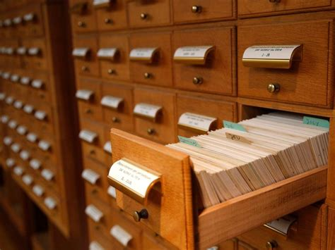 library index card the card catalog is officially dead smart news smithsonian