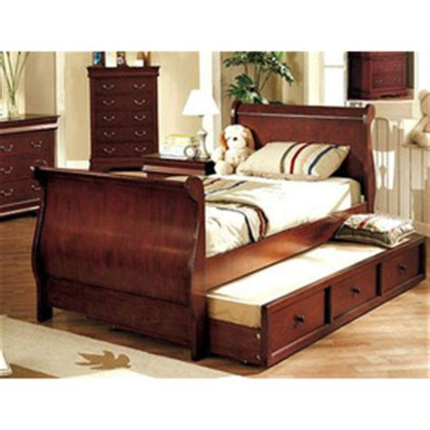 shop furniture  america louis philippe dark cherry full
