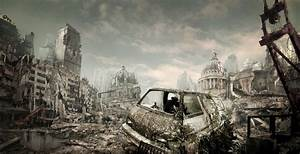 Destroyed City by ShadowYingZhi on DeviantArt