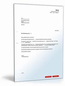 Rechnung Verkaufen : aufforderung korrektur rechnung muster vorlage zum download ~ Themetempest.com Abrechnung