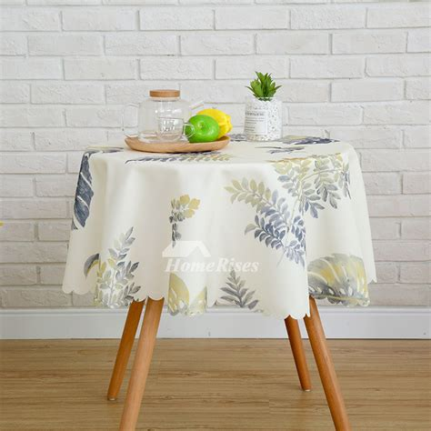 modern printed polyester    sale fabric tablecloths