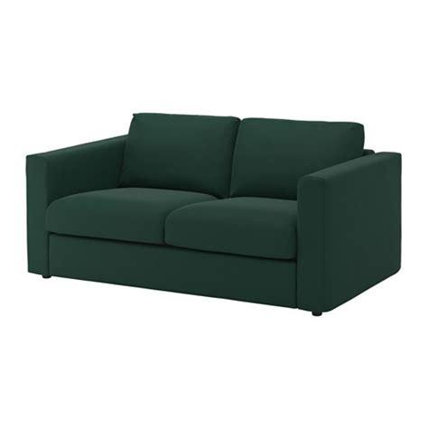 vimle  seat sofa gunnared dark green ikea