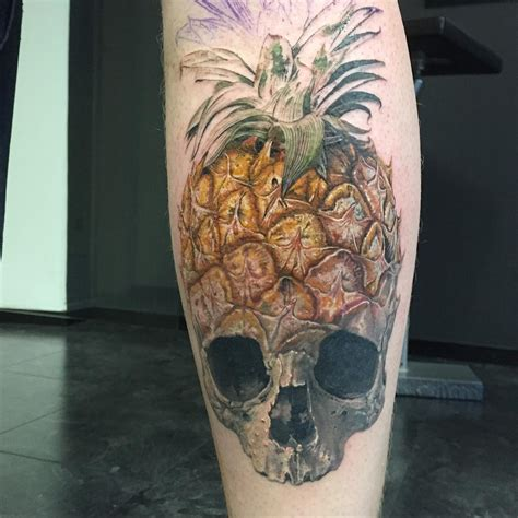 pineapple tattoos   surprising history