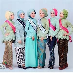 dress wanita desain model kebaya muslim modern dan cantik fashion