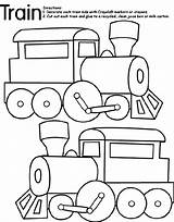 Train Coloring Crayola Pages sketch template