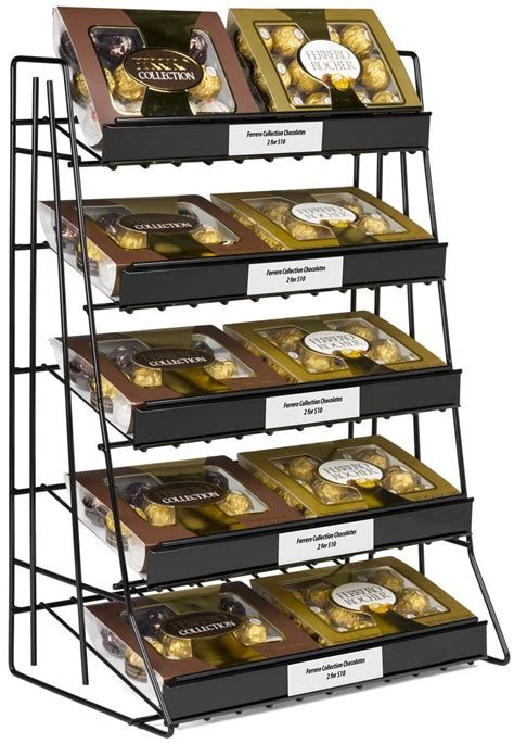 tier wire countertop rack  welded sign channel