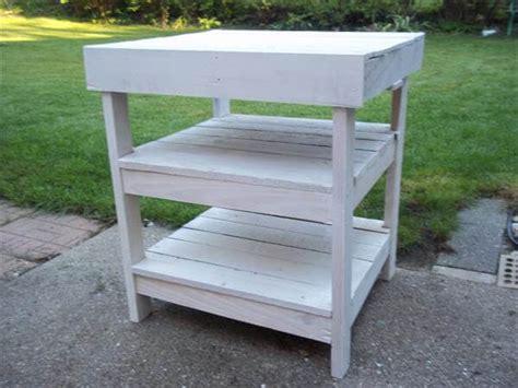 diy pallet garden workbench bbq table  pallets