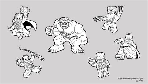 ausmalbilder avengers lego ausmalbilder