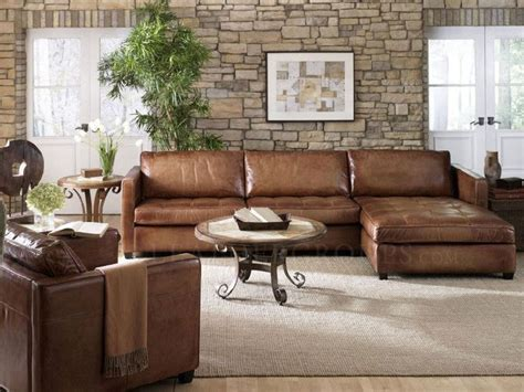 Light Brown Leather Sectional by Best 25 Leather Sectional Sofas Ideas On