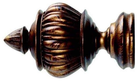 kirsch 2 inch wood trends renaissance armada finial