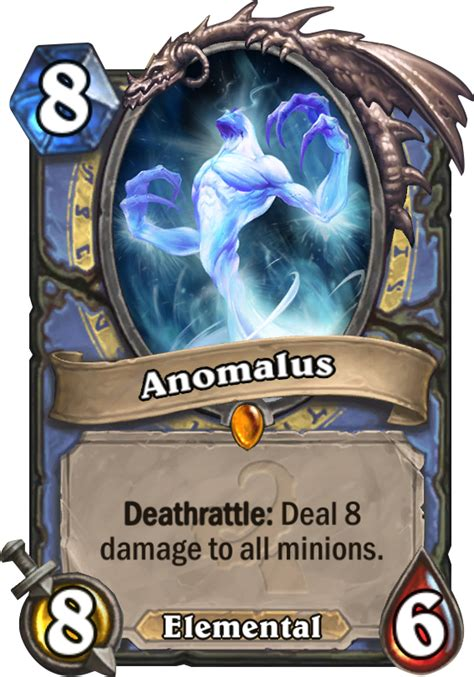 Hearthstone Deathrattle Deck Mage by Anomalus Hearthstone Card