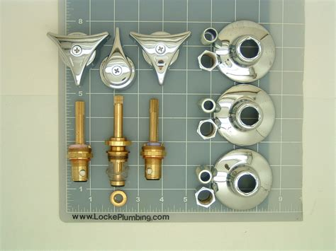 union brass faucet rebuild kit  ceramic stems locke