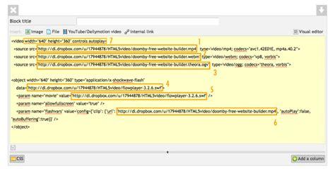add support    html emyspot