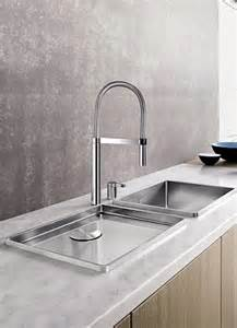 tap into kitchen chic with smart sinks and slinky taps which even dispense sparkling water