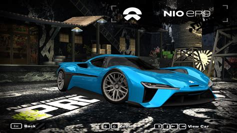 speed  wanted   nio ep nfscars
