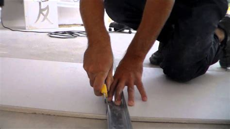 comment couper du placo how to cut the plasterboard