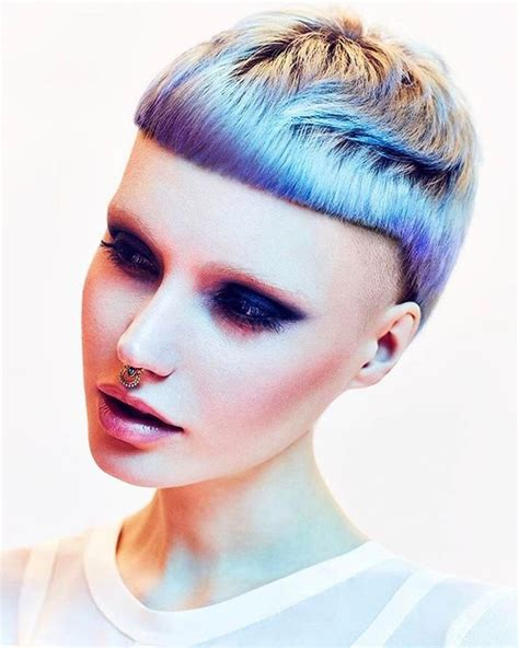 funky haircuts 1048 best i colourful hair images on hair 1714