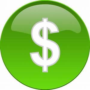 Money Financial Button Clip Art at Clker.com - vector clip ...