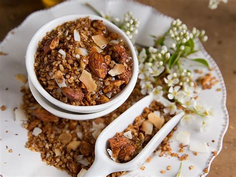 sos recettes cuisine granola de quinoa une recette soscuisine
