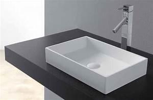 Vasque En Corian : vasques vasque poser vasque type corian 48 x 32 cm en ~ Premium-room.com Idées de Décoration