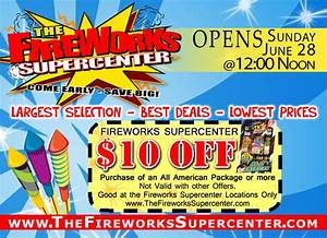 Specials The Fireworks Supercenter