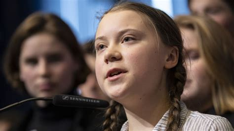 Greta Thunberg, 16-Year-Old Swedish Environmental Activist ...