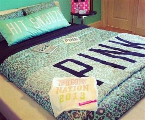 bed set victoria secret pink pinterest