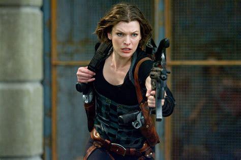 Milla Jovovich Resident Evil 5 Retribution Interview