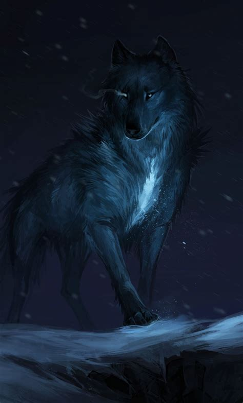 Galaxy Wolf Wallpaper Hd by Wolf Iphone Wallpapers Top Free Wolf Iphone Backgrounds