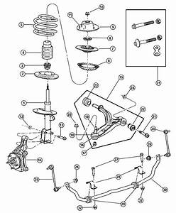 Chrysler Voyager Suspension  Front