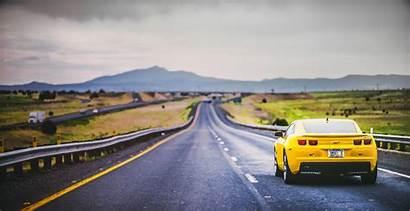 Road Landscape Vehicle Chevrolet Wallpapers Camaro Carreteras
