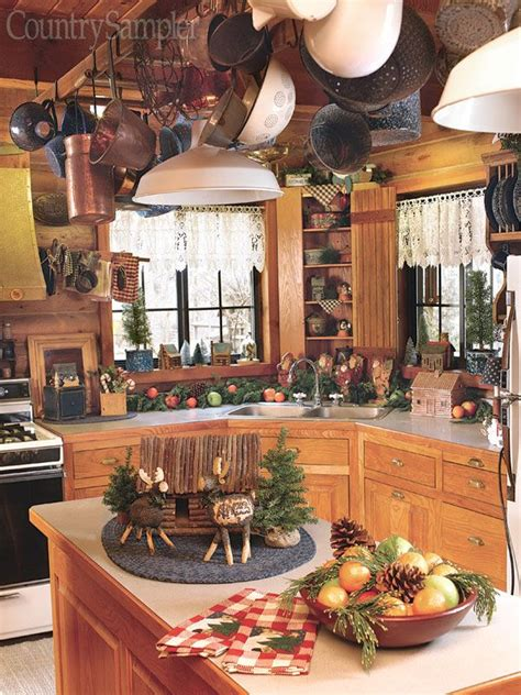 257 Best Images About Cabins  Kitchens On Pinterest  Log