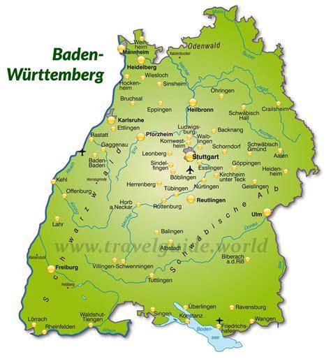 From cuckoo clocks to black forest gateau, from mercedes to porsche. Regionen und Städte in Baden-Württemberg