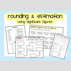 Estimating By Rounding To Significant Figures By Sbinning  Uk Teaching Resources Tes
