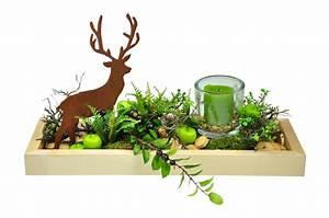 Dekoschale Mit Kerzen : dekoschale mit hirsch und kerze aus natur lackiertem ~ Sanjose-hotels-ca.com Haus und Dekorationen