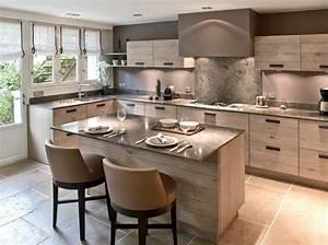 cuisine avec ilot central plaque de cuisson cuisines With meuble pour petite cuisine 1 petite cuisine avec 238lot central ayant toute la