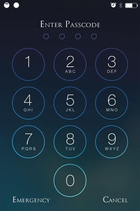 numbers on iphone beef up your iphone s passcode security with a blank