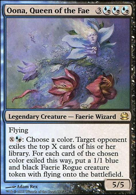 oona queen of the fae mma mtg card