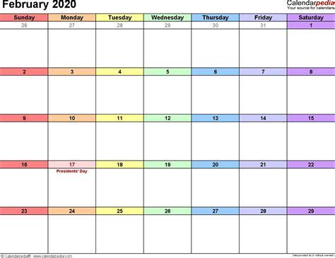 february calendar editable qualads