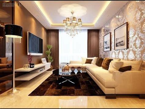 desaina wallpaper ruang keluarga mewah  elegan youtube