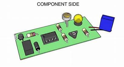 Pcb Circuit Board Printed Components Component Boards