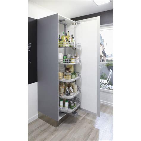 colonne de rangement cuisine rangement ouvrant colonne 5 paniers pour colonne l 60 cm