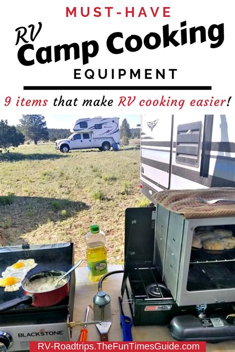 rv camping equipment cooking thefuntimesguide roadtrips