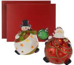 Winter Snowman Luminary with Flameless Candle by Home