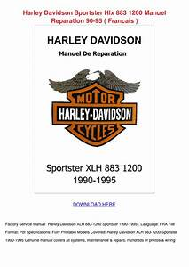 Harley Davidson Sportster Hlx 883 1200 Manuel By Shakita Lacrone